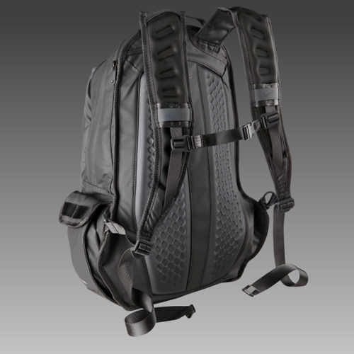 040b186ef5b1 Nike design and a tactical aesthetic come together for their new All  Weather Jules Backpack. The bag ( 125) has a deep list of features  including Max Air ...