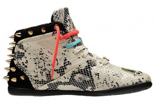 183fa1539c2 Melody Ehsani x Reebok M.E. Spiked Python Sneaker